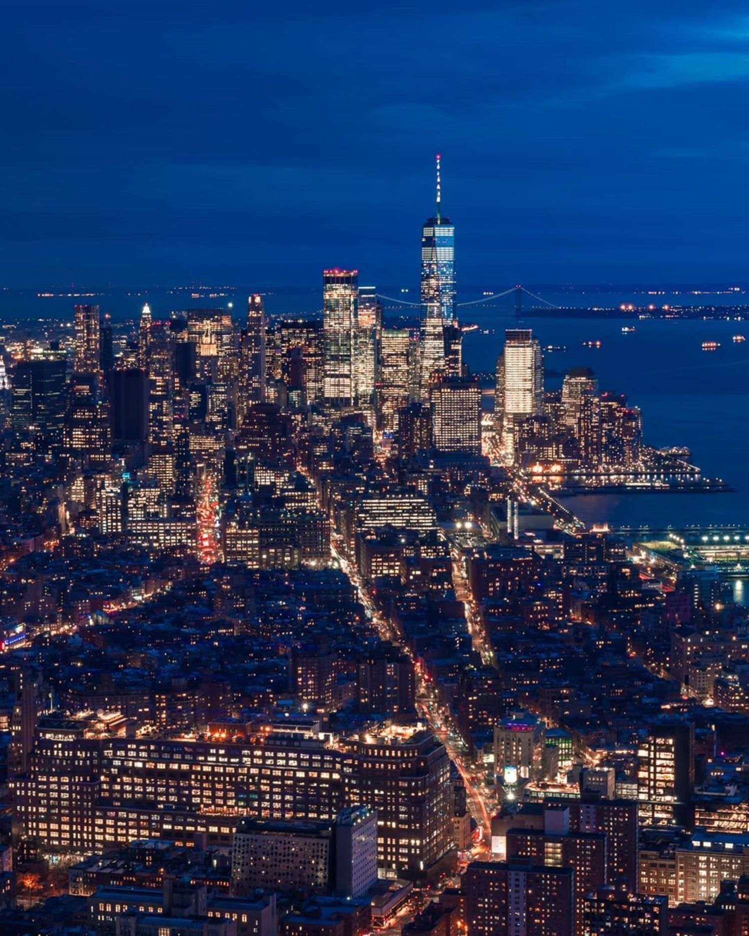 Lower Manhattan from The Edge, Hudson Yards, Manhattan