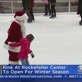 Rockefeller Center Ice Rink Opens Monday