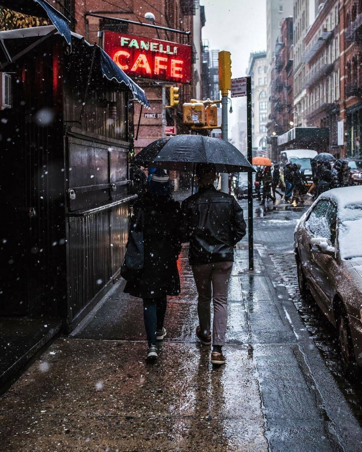 Fanelli Cafe, SoHo, New York, New York.