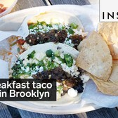 This is a breakfast taco shop in Brooklyn