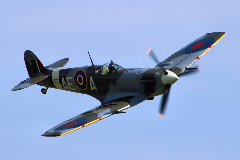 WWII Spitfire Plane