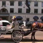 NYC horse-drawn carriages move inside Central Park