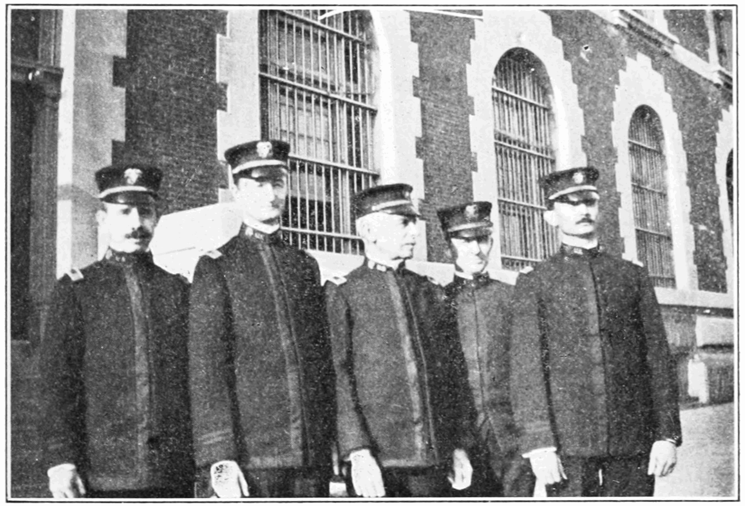 Medical Officers of Ellis Island (1913)