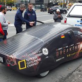 Rockin a Solar Car in Manhattan!