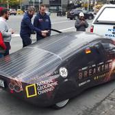 Rockin a Solar Car in Manhattan!