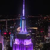 Grateful Dead – Empire State Building Light Show