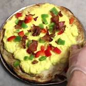 Marie's Gourmet Breakfast Pizza