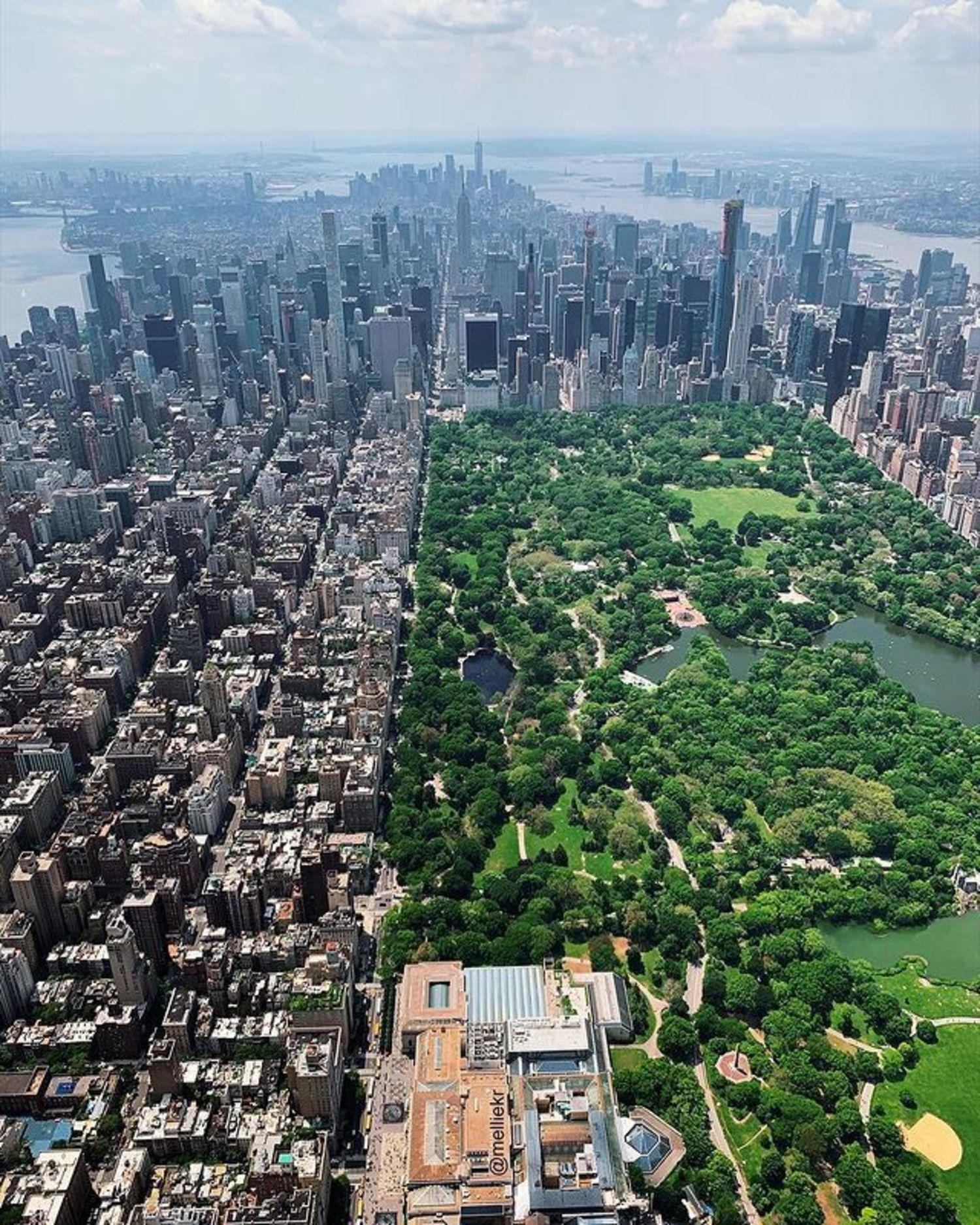 Upper East Side and Central Park, Manhattan