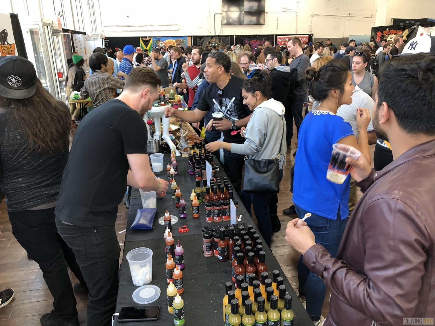 Bravado Spice Co. Booth | 2018 New York City Hot Sauce Expo