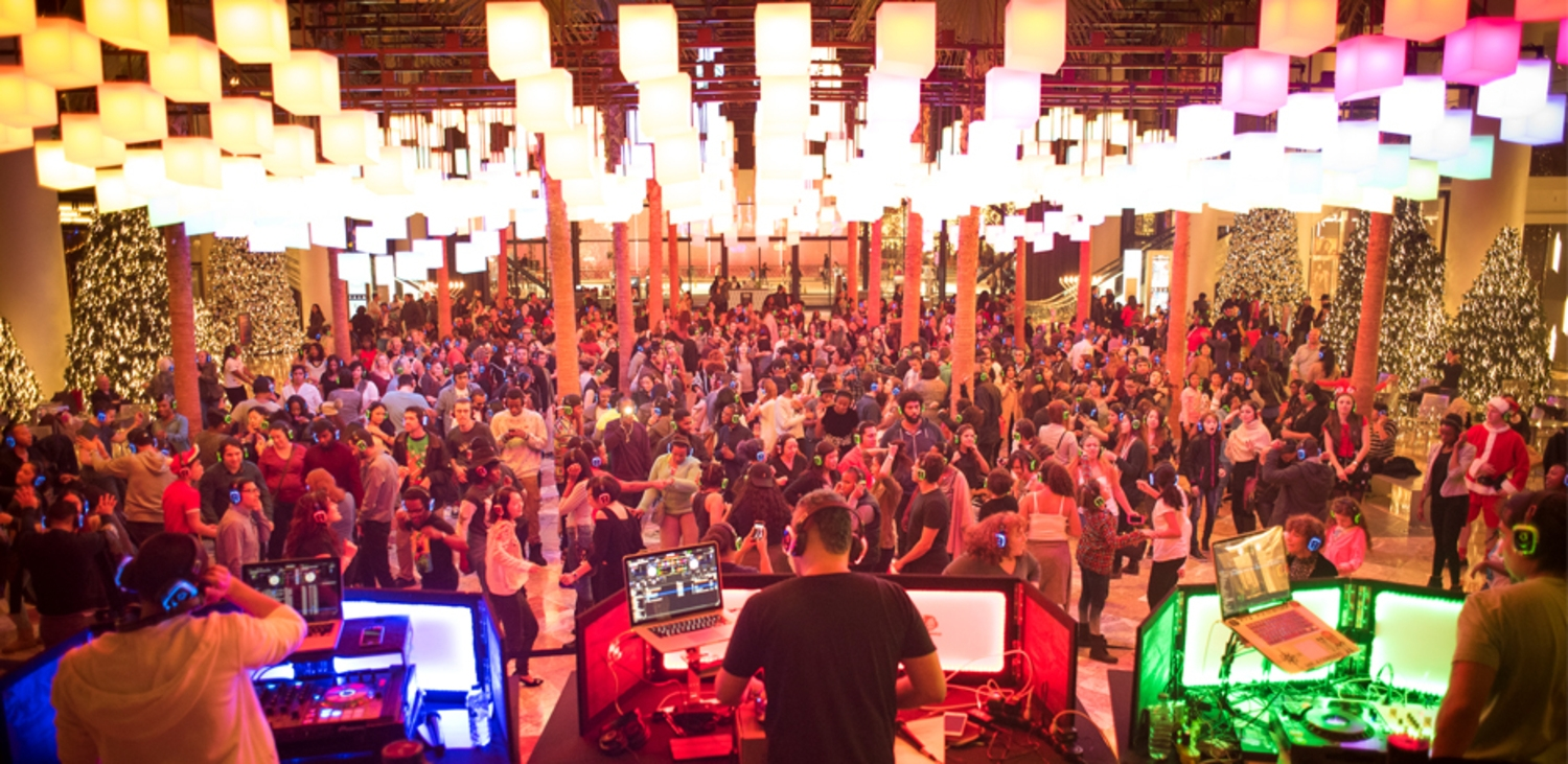 Quiet Clubbing at Brookfield Place