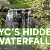 Central Park has hidden waterfalls to escape from city bustle
