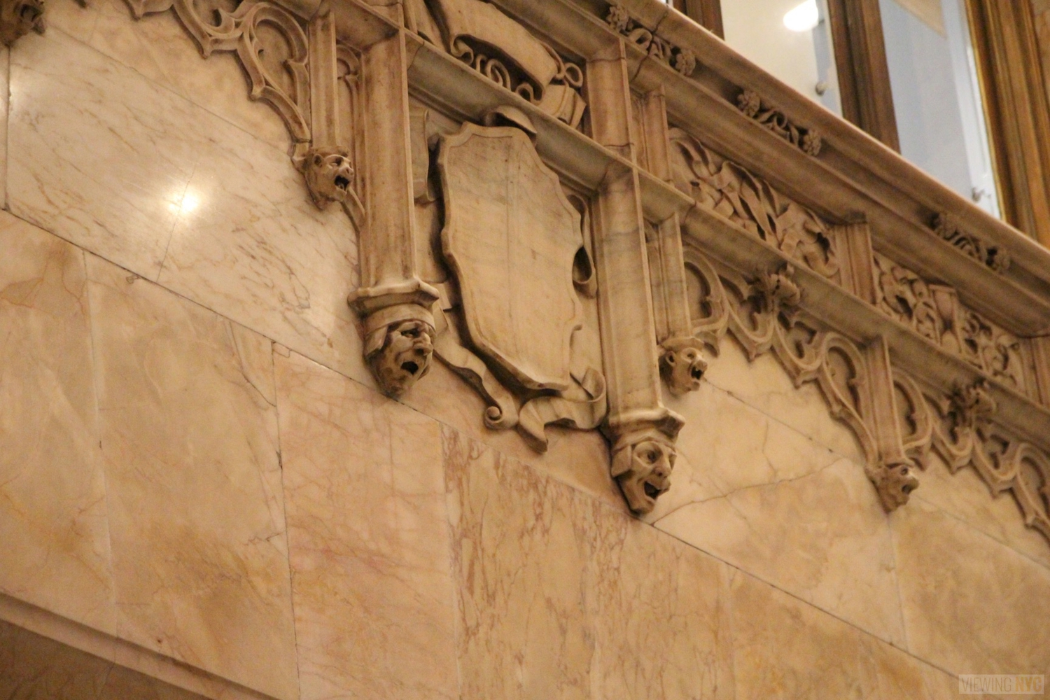 Woolworth Building Lobby and Basement Tour 21