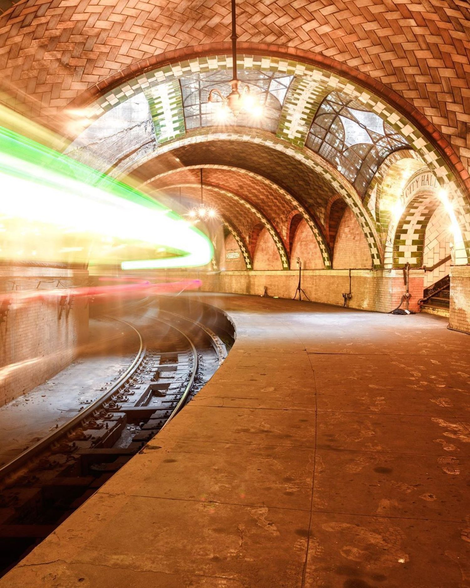 Abandoned City Hall Subway Station