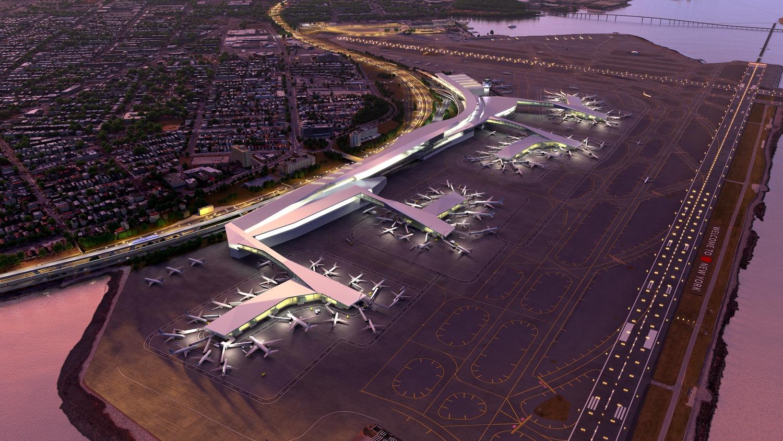 LaGuardia Renderings | Airside aerial