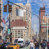 Flatiron Plaza, New York, New York. Photo via @newyorkcitykopp #viewingnyc #newyork #newyorkcity #nyc