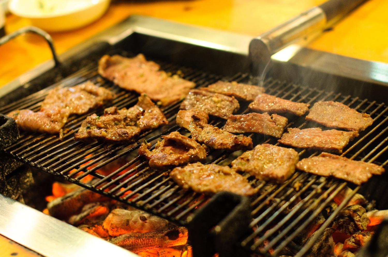 Korean BBQ | Authentic charcoal bbq, Kom Tang NYC