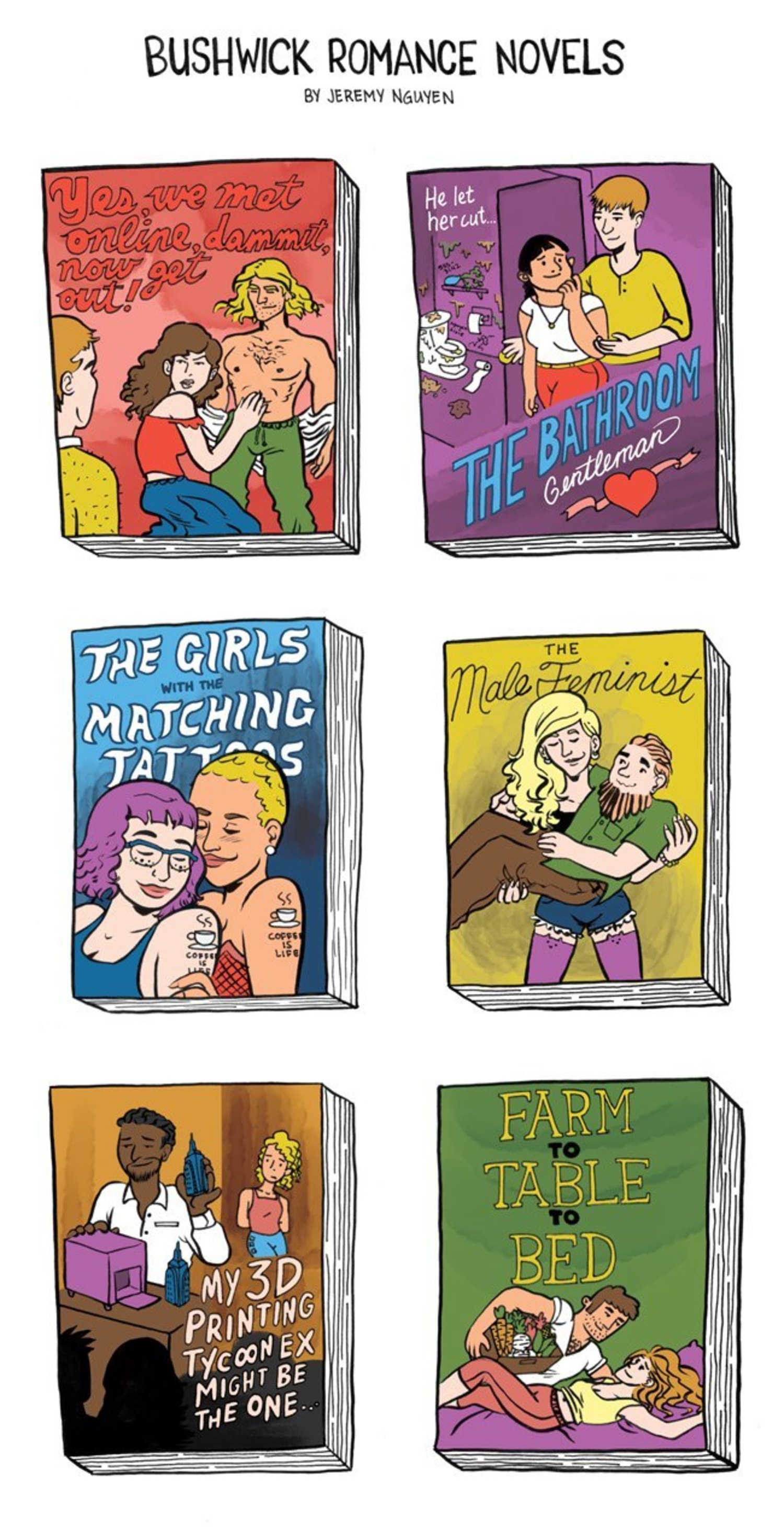 Bushwick Romance Novels