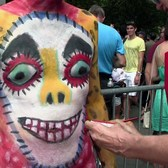 2017 NYC Bodypainting Day @ Washington Square Park