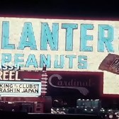 New York 1953, Times Square neon signage  (60fps, added sound w/ color remaster)