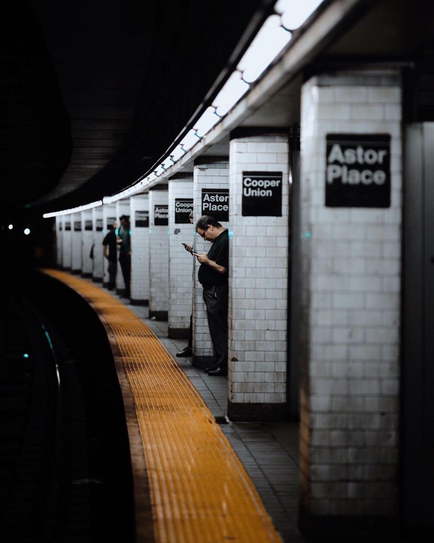 Astor Place Station, East Village, Manhattan