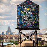 Tom Fruin's Watertower, DUMBO, Brooklyn