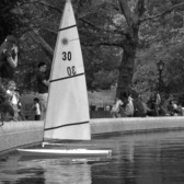 Sailing in Central Park, NYC