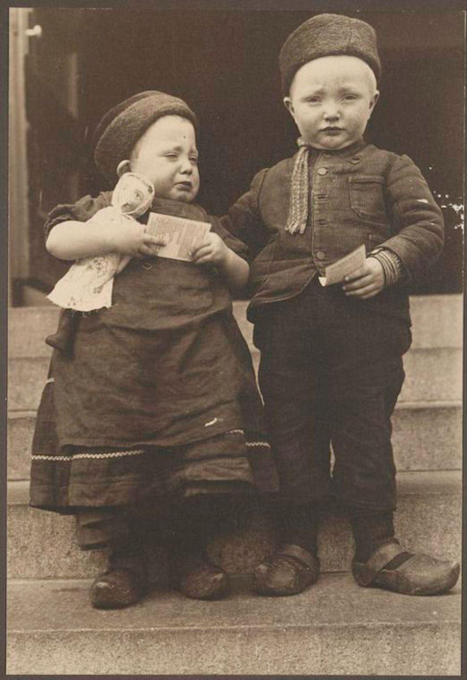 Dutch Children. Portraits for Ellis Island.