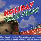 The 23rd Annual Holiday Train Show At NYBG