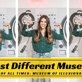 Most Different Museum In NY Of All Times: Museum of Illusions