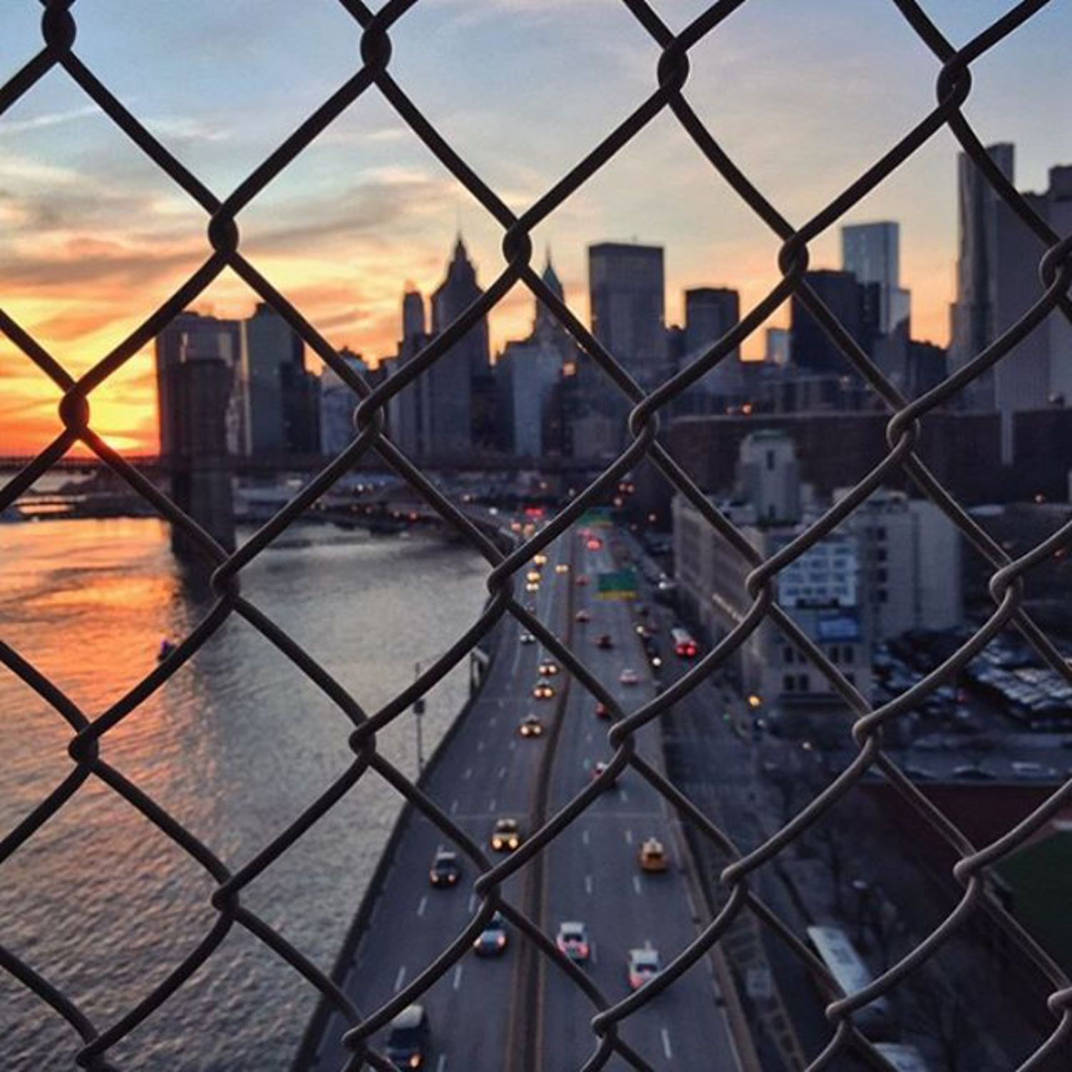 Manhattan view #NYC (📷: @sweatengine)