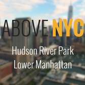 Above New York: Hudson River Park in Lower Manhattan