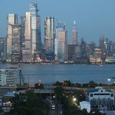 Hudson Yards and Midtown West, Manhattan from New Jersey