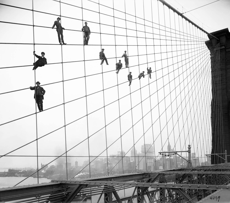 Brooklyn Bridge Painters, 1914