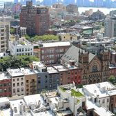 View over Chelsea, Meatpacking, West Village and Jersey, from the Google-terrace