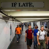This Depressing Poem Has Been Taunting NYC Commuters Since 1991