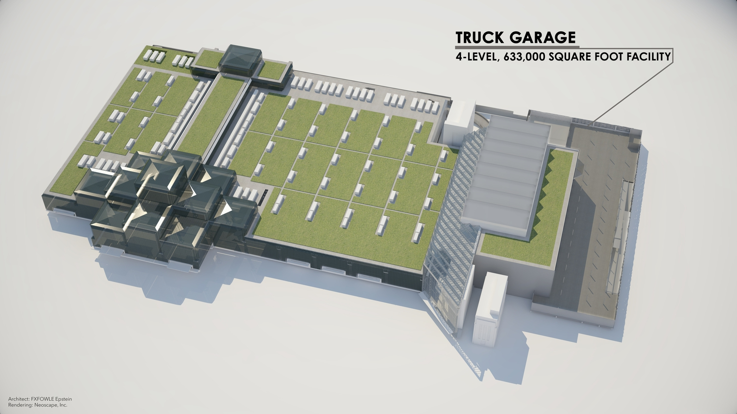 Javits Center Renderings: Truck Garage