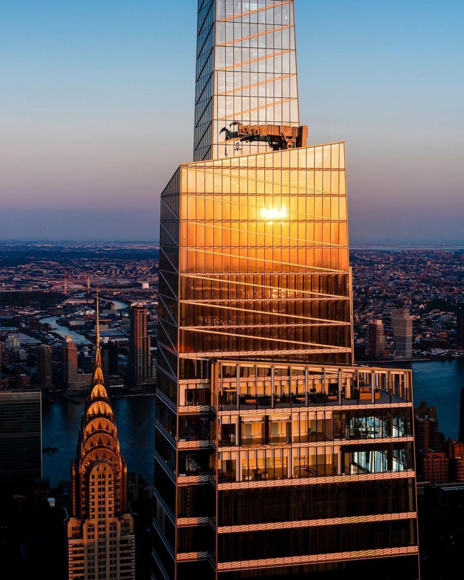 One Vanderbilt and Chrysler Building, Midtown, Manhattan