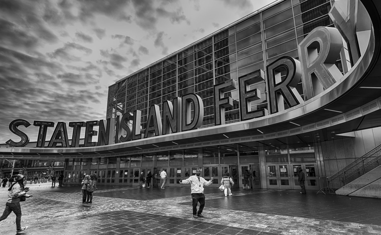 Staten Island Ferry Whitehall Terminal, New York, New York