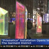 'Prismatica' Art Installation Opens In Garment District
