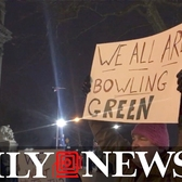 'Protesters' take to streets to honor 'Bowling Green massacre'