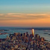Sunset Over Lower Manhattan, New York
