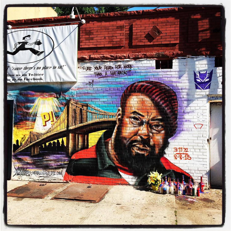 New on my corner.  Sean Price, Heltah Skeltah.  RIP.  #brooklyn #crownheights #seanprice #heltahskeltah