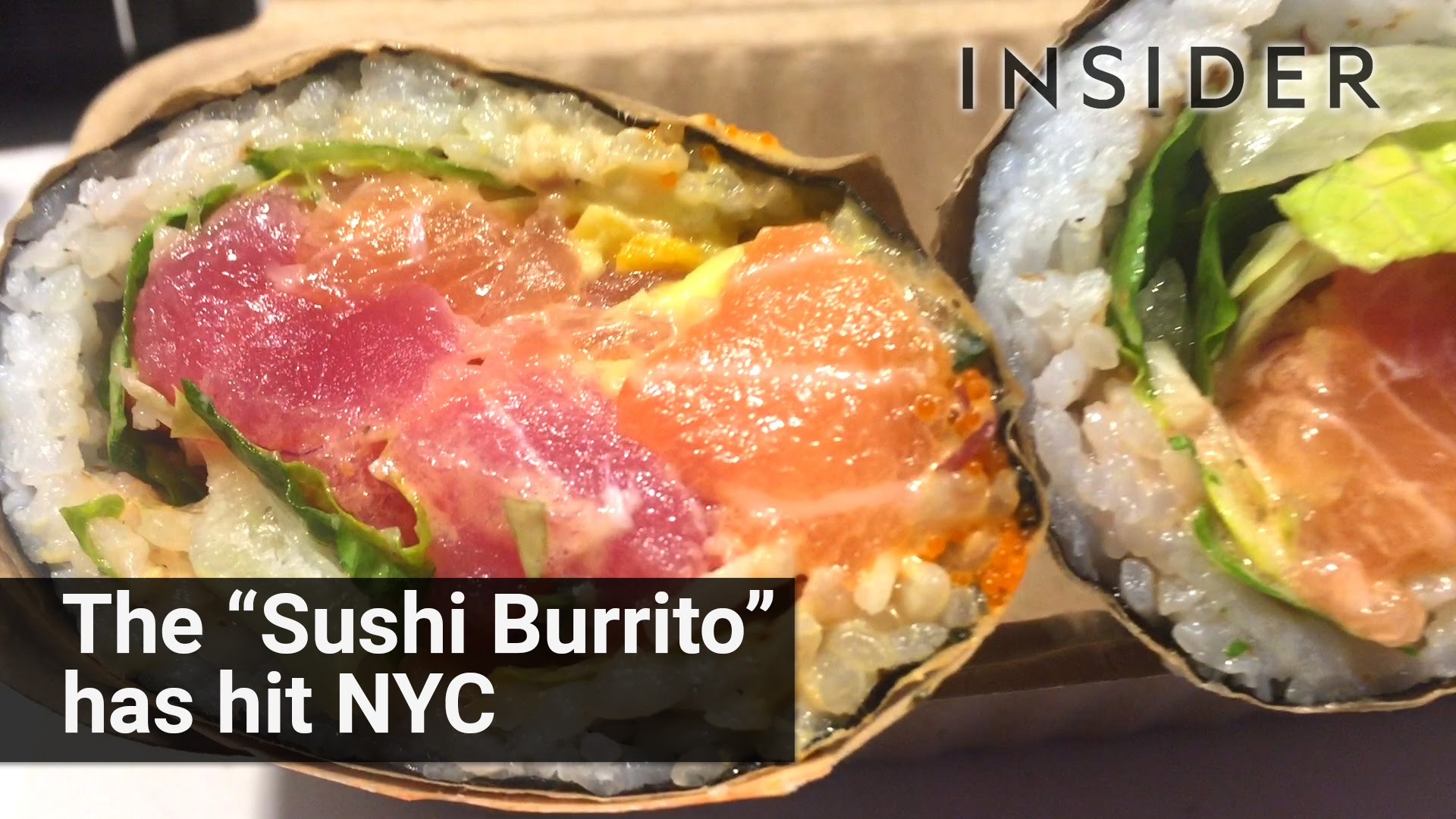 Check Out This Amazing Sushi Burrito At Pokworks In -1842