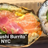 The 'Sushi Burrito' has hit NYC