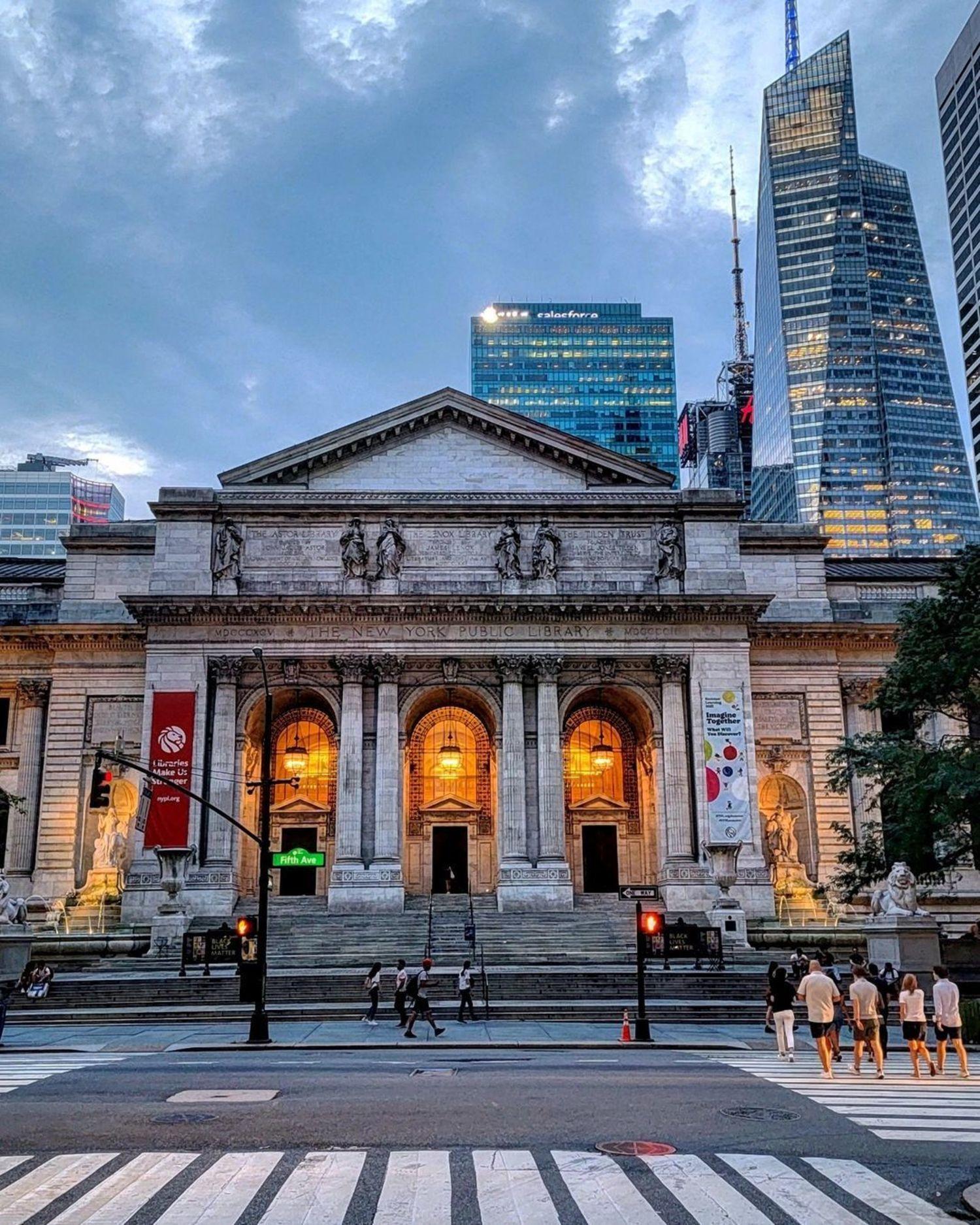 New York Public Library, Midtown, Manhattan