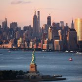 Statue of Liberty and New York Harbor