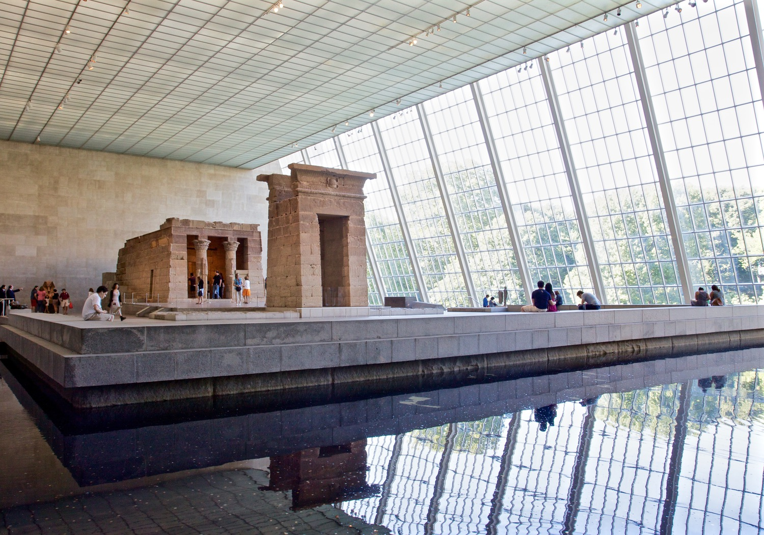 Temple of Dendur at The Met | Taken at the Temple of Dendur at the Metropolitan Museum of Art.