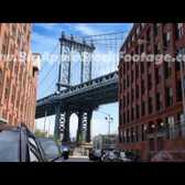 Manhattan Bridge Time Lapse Showing Deck Flexing
