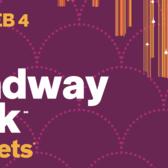 NYC Broadway Week, Winter 2018