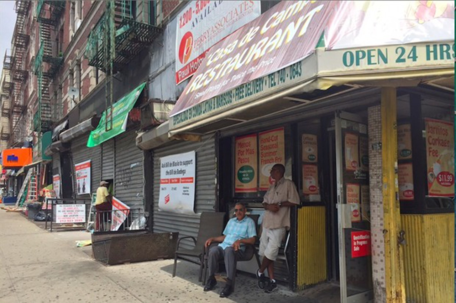 Washington Heights 'Gentrification in Progress Sale'